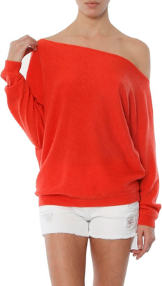 Minnie Rose The Row Sweater $253 thestylecure.com