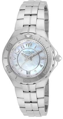 Technomarine Women's TM-715007 Sea Pearl Quartz 3 Hand White Dial Watch