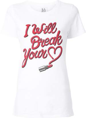 Zoe Karssen I Will Break Your Heart T-Shirt
