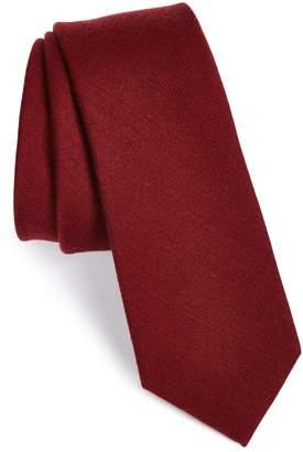 The Tie Bar Wool & Silk Solid Tie