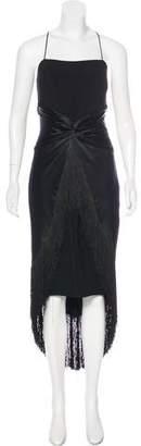 Cinq à Sept Sleeveless Fringe Dress w/ Tags