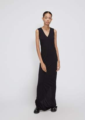 Rick Owens Lilies Sleeveless V-Neck Gown