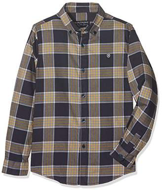 Mayoral Boy's 7135 Camisa m/l Cuadros Long-Sleeved Shirt