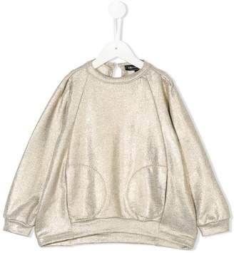 European Culture Kids metallic sweatshirt