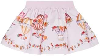 MonnaLisa Balloon Print Skirt