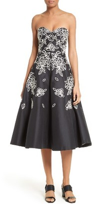 Women's Tracy Reese Fit & Flare Midi Dress $448 thestylecure.com