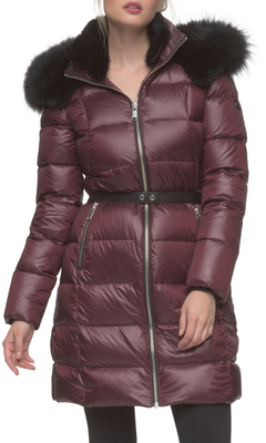 Tatiana Belted Quilted Jacket $695 thestylecure.com