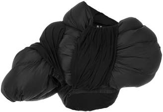 Rick Owens padded cape jacket