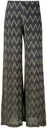 Missoni metallic sheen palazzo pants