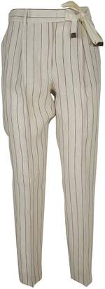 Peserico Tailored Cropped Trousers