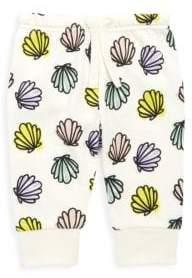 Stella McCartney Baby's Tootie Seashell-Print Cotton Sweatpants