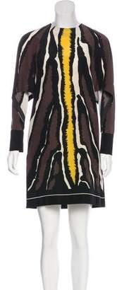 Fendi 2016 Printed Dress
