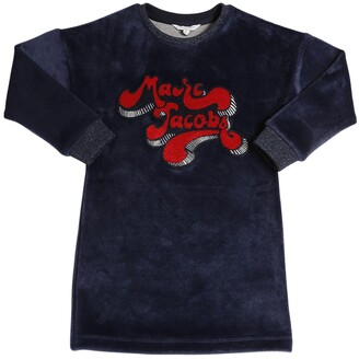Little Marc Jacobs Chenille Dress With Patch