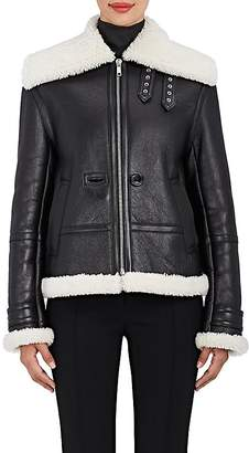 Helmut Lang Women's Shearling Aviator Jacket
