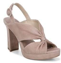 Diane von Furstenberg Heidi Slingback Block Heel Sandals