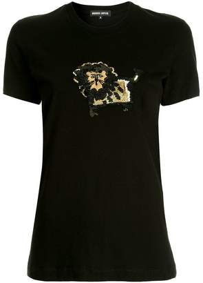 Markus Lupfer lion applique T-shirt