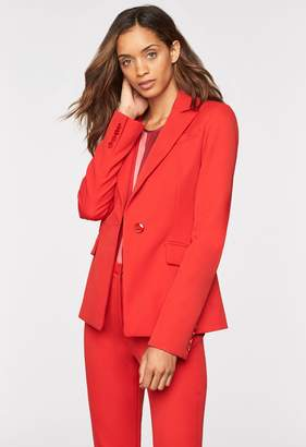 MillyMilly Stretch Crepe Fitted Blazer