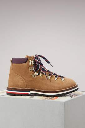 Moncler Blanche leather boots