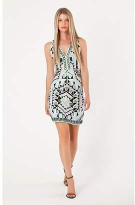 Hale Bob Nyla Jersey Dress