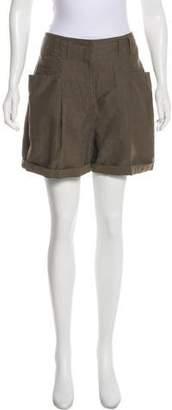 Stella McCartney High-Rise Mini Shorts