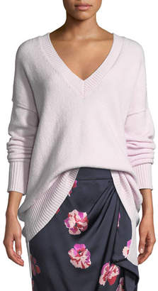 Joie Limana V-Neck Long-Sleeve Wool-Blend Sweater