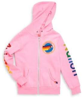 Aviator Nation Little Girl's& Girl's Graphic Hoodie