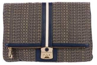 Marc by Marc Jacobs Canvas Fold-Over Clutch