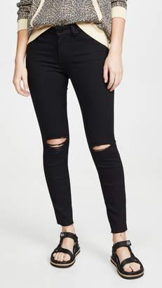 Paige Verdugo Ankle Skinny Jeans with Raw Hems
