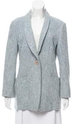 Armani Collezioni Wool Bouclé Blazer