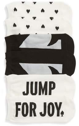 Kate Spade 3-Pack Jump For Joy No-Show Socks