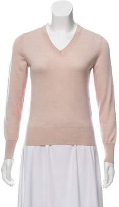 MAISON KITSUNÉ Colorblock Wool Sweater