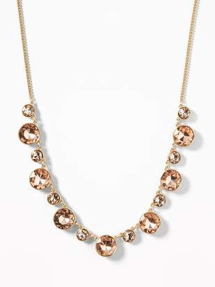 Old Navy Faux-Gem Statement Necklace for Women