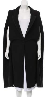 Stella McCartney Long Wool Cape w/ Tags