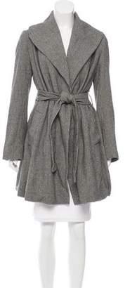Hache Houndstooth Swing Coat