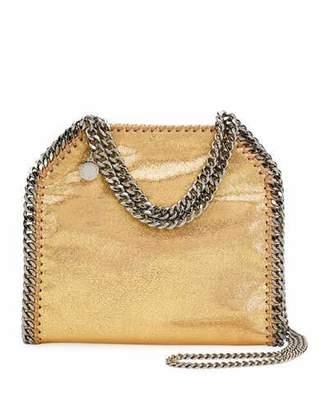 Stella McCartney Mini Falabella Metallic Chain Tote Bag