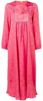 Vilshenko long embroidered dress