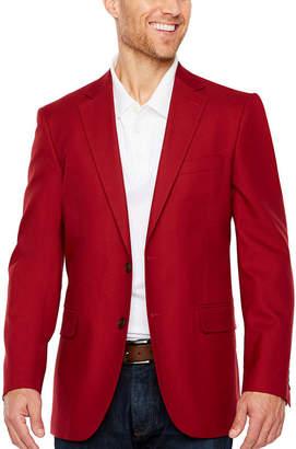 STAFFORD Stafford Classic Fit Woven Sport Coat