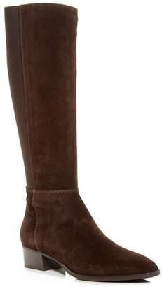 Aquatalia Women's Finola Weatherproof Block-Heel Riding Boots