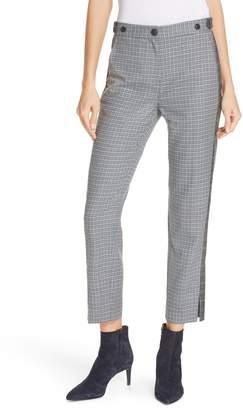 Rag & Bone Meki Stripe Plaid Crop Pants