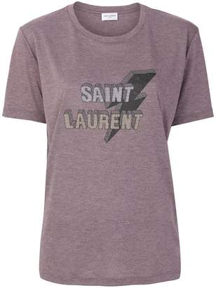 Saint Laurent lightning bolt T-shirt