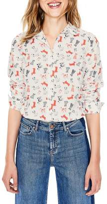 Boden The New Classic Cotton Button-Up Blouse