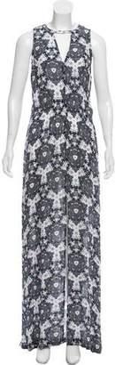 A.L.C. Silk Printed Maxi Dress
