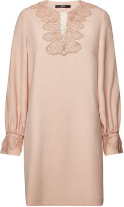 Sly 010 SLY010 Embroidered Mini Dress