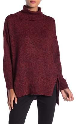 DREAMERS BY DEBUT Turtleneck Hi-Lo Sweater