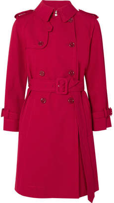 Marc Jacobs Cotton Trench Coat - Red