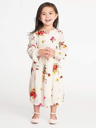 Old Navy Balloon-Sleeve Dress for Toddler Girls
