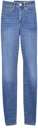 3x1 High Rise Channel Seam Skinny Jean in Charter