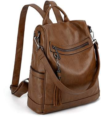 Convertible Backpack Shoulder Bag Style Canada. Leather ... 744444fbf03e7