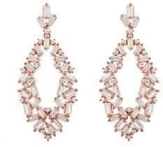 Saks Fifth Avenue JanKuo Jewelry Crystal Drop Earrings