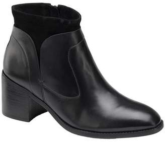 Johnston & Murphy Trinity Leather & Suede Bootie